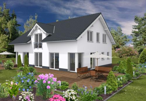 Haus Alto mit Einliegerwohnung - 152 qm Wohnfläche, 5 Zimmer + 86 qm Wohnfläche, 2 Zimmer